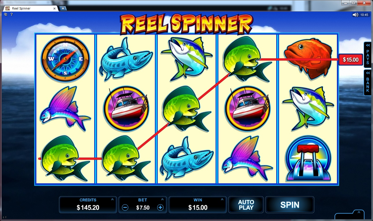 Reel Spinner Screenshot
